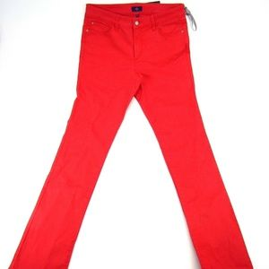 NYDJ Skinny Slim Colored Mid Rise Womens Jeans New
